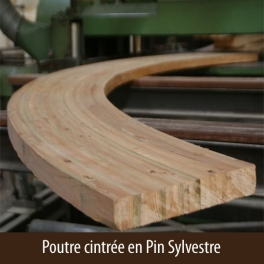 POUTRE LAMELLEE COLLEE CINTREE