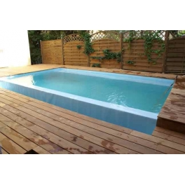 Piscine bois d bordement for Beaver pool piscine